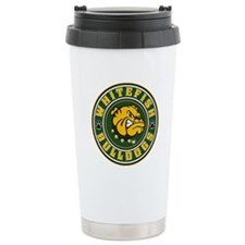 Whitefish Bulldogs Circle Travel Mug