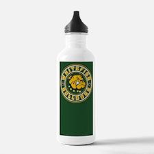 Whitefish Bulldogs Circle Water Bottle