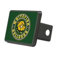 Whitefish Bulldogs Circle Hitch Cover