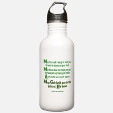 Irish May the Road Water Bottle