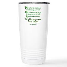 Irish May the Road Travel Mug