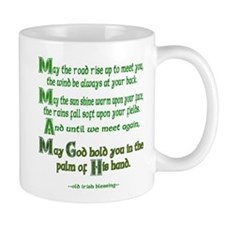 Irish May the Road Center Mug