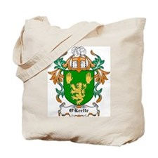 O'Keeffe Coat of Arms Tote Bag