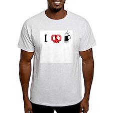 Pretzel Love Beer T-Shirt
