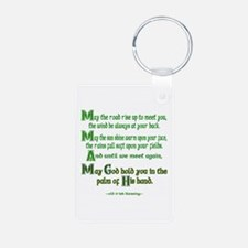 Irish May the Road Keychains