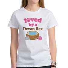 Loved By Devon Rex Cat Tee