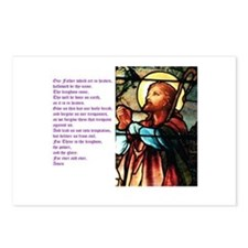 The Lords Prayer Postcards (Package of 8)