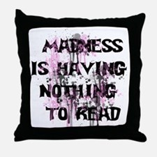 Madness Grunge.png Throw Pillow