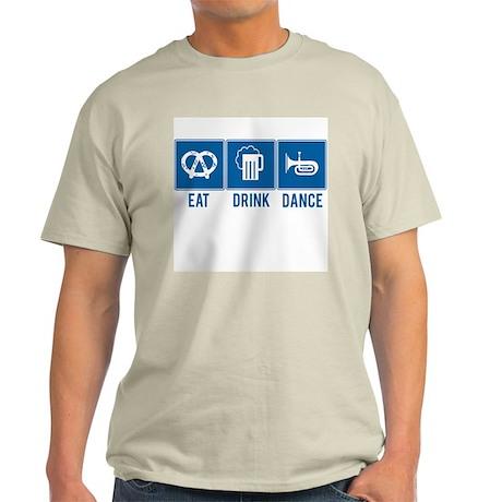Oktoberfest Eat Drink Dance Light T-Shirt