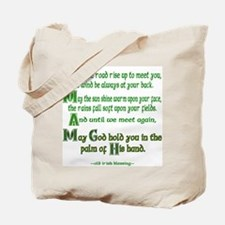 Irish May the Road Tote Bag