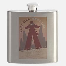 East Side West Side Flask