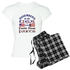 USA / Puerto Rican Parts Pajamas