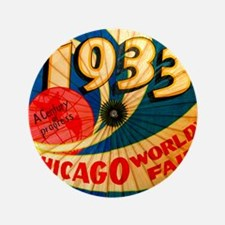 Vintage 1933 Chicago World's Fair Advertising Art