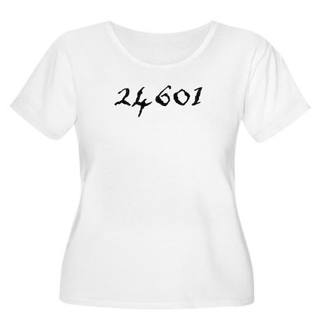 24601 Women's Plus Size Scoop Neck T-Shirt