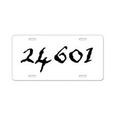 24601 Aluminum License Plate