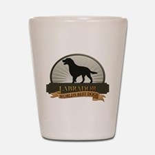 Labrador Shot Glass