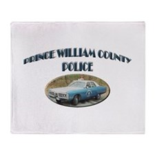 Prince William Police Throw Blanket