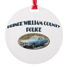 Prince William Police Ornament