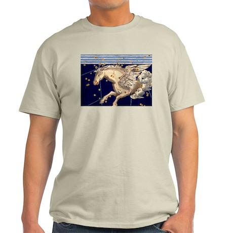 Vintage Pegasus Flying Horse Mythology Stars Gods