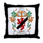 O'Hyland Coat of Arms Throw Pillow