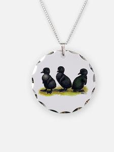 Cayuga Ducklings Necklace