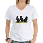 Cayuga Ducklings Women's V-Neck T-Shirt