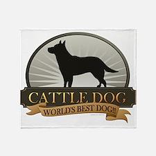 Cattle Dog Throw Blanket