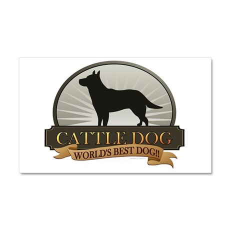 Cattle Dog Car Magnet 20 x 12