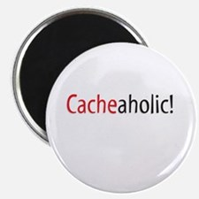 Cacheaholic! Magnet