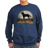 Australian cattle dog mens Sweatshirt (dark)