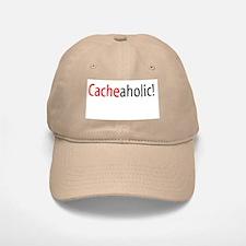 Cacheaholic! Baseball Baseball Cap