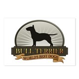 Bull terrier Postcards