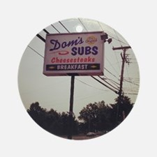 Dom's Subs Ornament (Round)