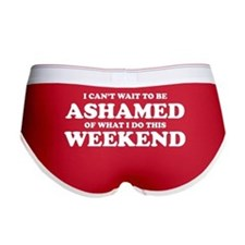 Ashamed Weekend Women's Boy Brief