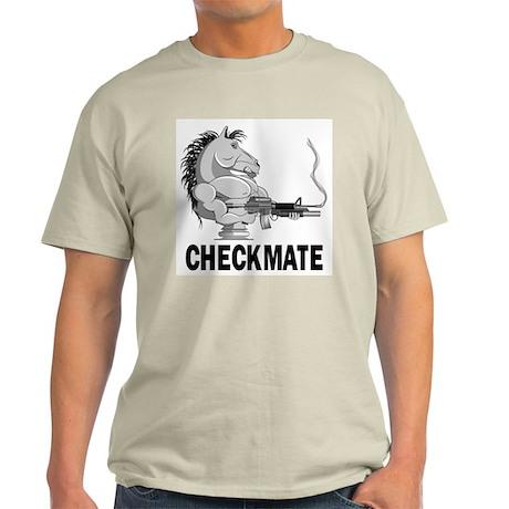 Checkmate Ash Grey T-Shirt
