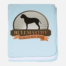 Bullmastiff baby blanket