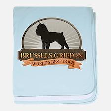 Brussels Griffon baby blanket