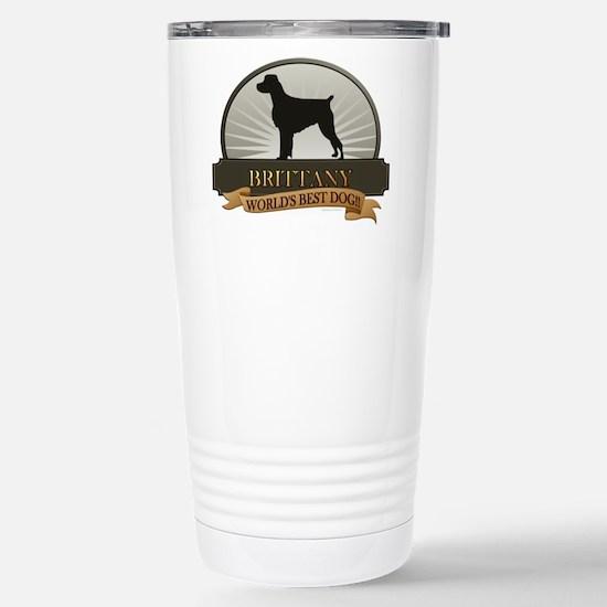 Brittany Stainless Steel Travel Mug