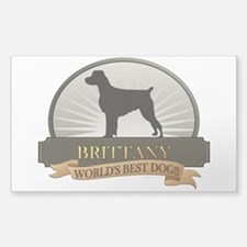 Brittany Sticker (Rectangle)
