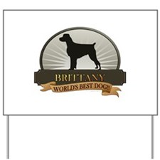 Brittany Yard Sign