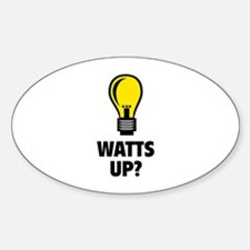 Watts Up ? Decal
