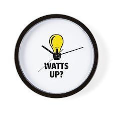 Watts Up ? Wall Clock