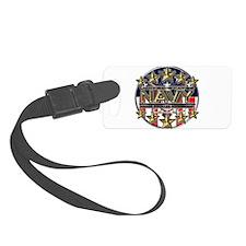 USN Navy Honor RWB Luggage Tag