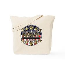 USN Navy Honor RWB Tote Bag