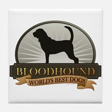 Bloodhound Tile Coaster