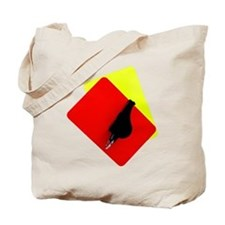 red and yellow card Tote Bag