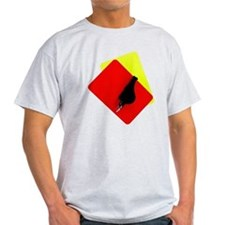 red and yellow card T-Shirt