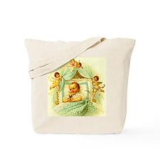 Vintage Victorian New Baby Shower Gift Cherubs Tot