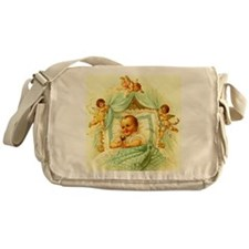 Vintage Victorian New Baby Shower Gift Cherubs Mes