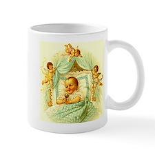 Vintage Victorian New Baby Shower Gift Cherubs Mug